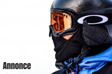 Skibriller og hjelm
